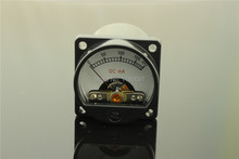 1Piece 200MA Ammeter Audio Level Meter 6-12V Audio Level With Warm BackLight Free Shipping