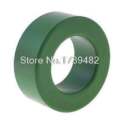 37mm Inner Diameter Ferrite Ring Iron Toroid Core Green T63 toroidal transformer 32mm inner diameter ferrite core as200 125a black