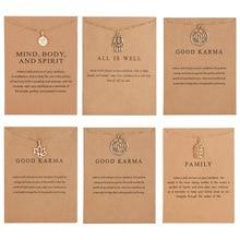 Трендовое ожерелье с картой, лотос, полый кулон, сплав, бумажная карта, ожерелье для женщин, Минималистичная цепочка на ключицу, чокер колье подарок
