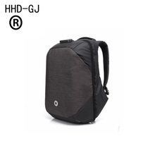 HHD-GJ Males Backpacks USB Cost Pc Backpack Password Lock 15.6Inch Laptop computer Baggage Informal Three-dimensional Antitheft Backpack