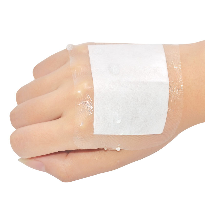 Waterproof Band Aid Large Size Medical Transparent Wound Sterile Dressing Tape Breathable Navel Paste Band-aids Bandages