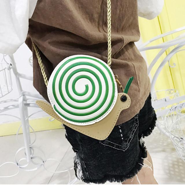 Fashion Kids Cartoon Animals Shoulder Bag Chain Diagonal Coin Crossbody Bag