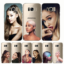 Ariana Grande AG Rainbow Sweetener Soft Silicon Phone Cases Cover for samsung s8 S9 s10 plus Note8 9 10 s6 s7 edge
