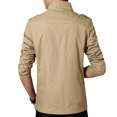 Bingchenxu Solid Color Jacket Men Brand Jackets Fashion Trend Slim Fit Casual Mens Jackets And Coats M-4XL 2019 Veste Homme 487 Karachi