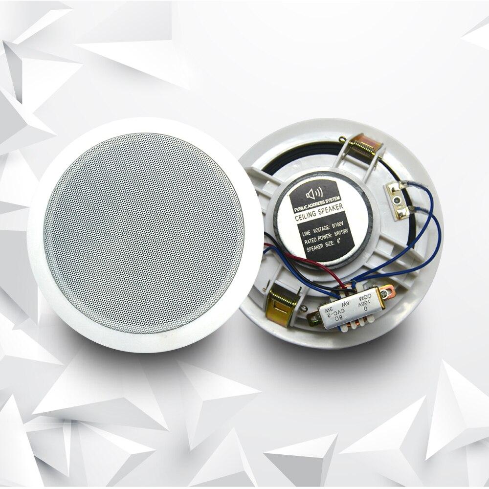 Pa Decke Lautsprecher Öffentlichen adresse system decke audio lautsprecher hintergrund musik systeme für restaurant hotel sound system