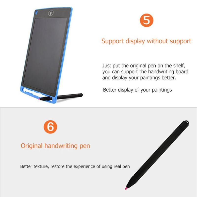 Tableta de escritura LCD inteligente Bloc de notas electrónico 14