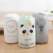 1 Uds. Organizador haz boca caja de almacenamiento de colcha bolsa impermeable ropa de casa edredón al aire libre ropa para moverse Organizador de embalaje