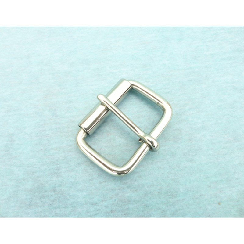 Stainless Steel Pin Buckle With Roller For Bag  Horse Saddle Accessories Woman Belt Buckle Accessories 42mm Belt Fastener W041B