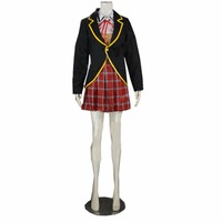 2017 RWBY Ruby Weiss Blake Yang Anime Cosplay Costume School Uniform Only Overcoat