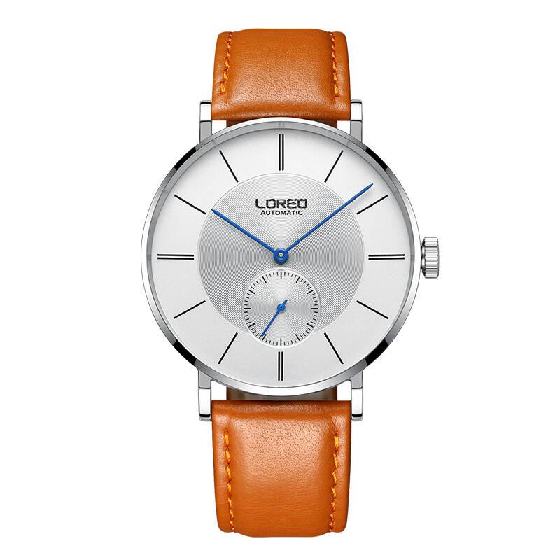 Здесь продается  LOREO 9211 Germany watches men luxury brand automatic sapphire calendar hollow diamond business simple fashion casual  Часы