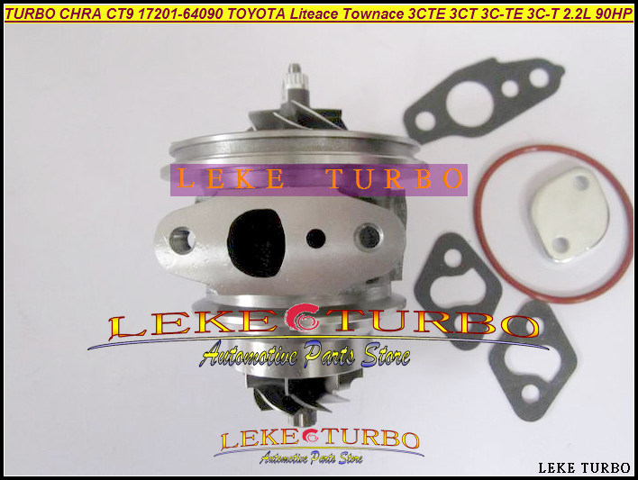 Free Ship TURBO Cartridge CHRA CT9 17201-64090 Turbocharger For TOYOTA Lite Townace Town ace Estima Emina 3CTE 3CT 3C 2.2L 90HP