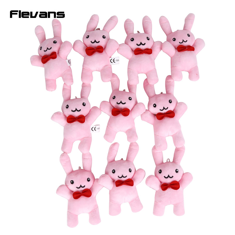 Anime OURAN HIGH SCHOOL HOST CLUB Rabbit Bunny Mini Plush Toys Soft Stuffed Animal Pendant Dolls 10pcs/lot 14cm