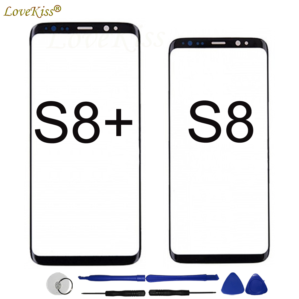 S8Plus Front Panel For Samsung Galaxy S8 Plus S8+ G950 G950F G955 Touch Screen Sensor LCD Display Digitizer Glass TP Cover Tools