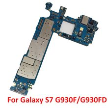 MainBoard Replacement For Samsung Galaxy S7 G930F G930FD Factory Unlock Motherboard Andorid Logic Board(China)