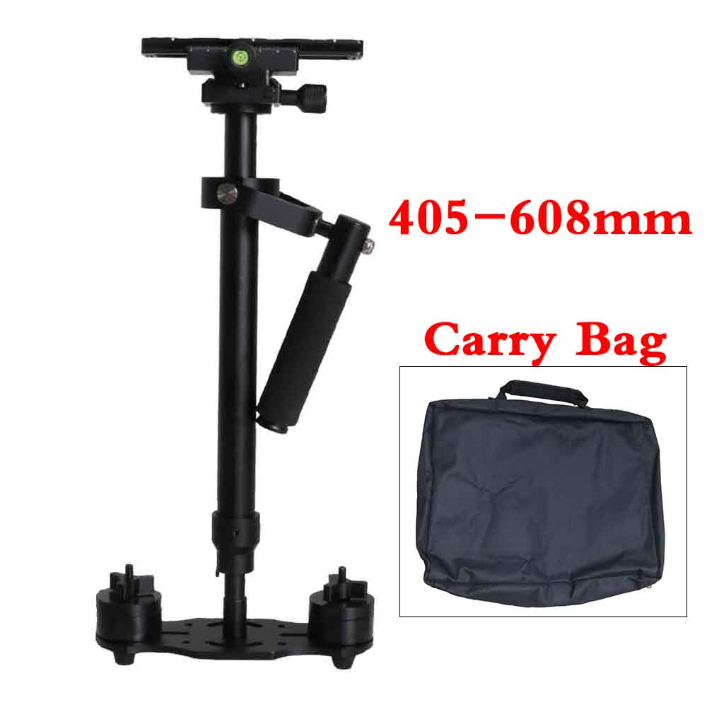 Professional 60cm/23.6inch Camera Handheld Stabilizer Steadicam For DSLR Camera Photography Studio Travel Video DV Estabilizador portable 2 axis handheld stabilizer video gimbal steadicam steady for dslr camera dv bmpcc