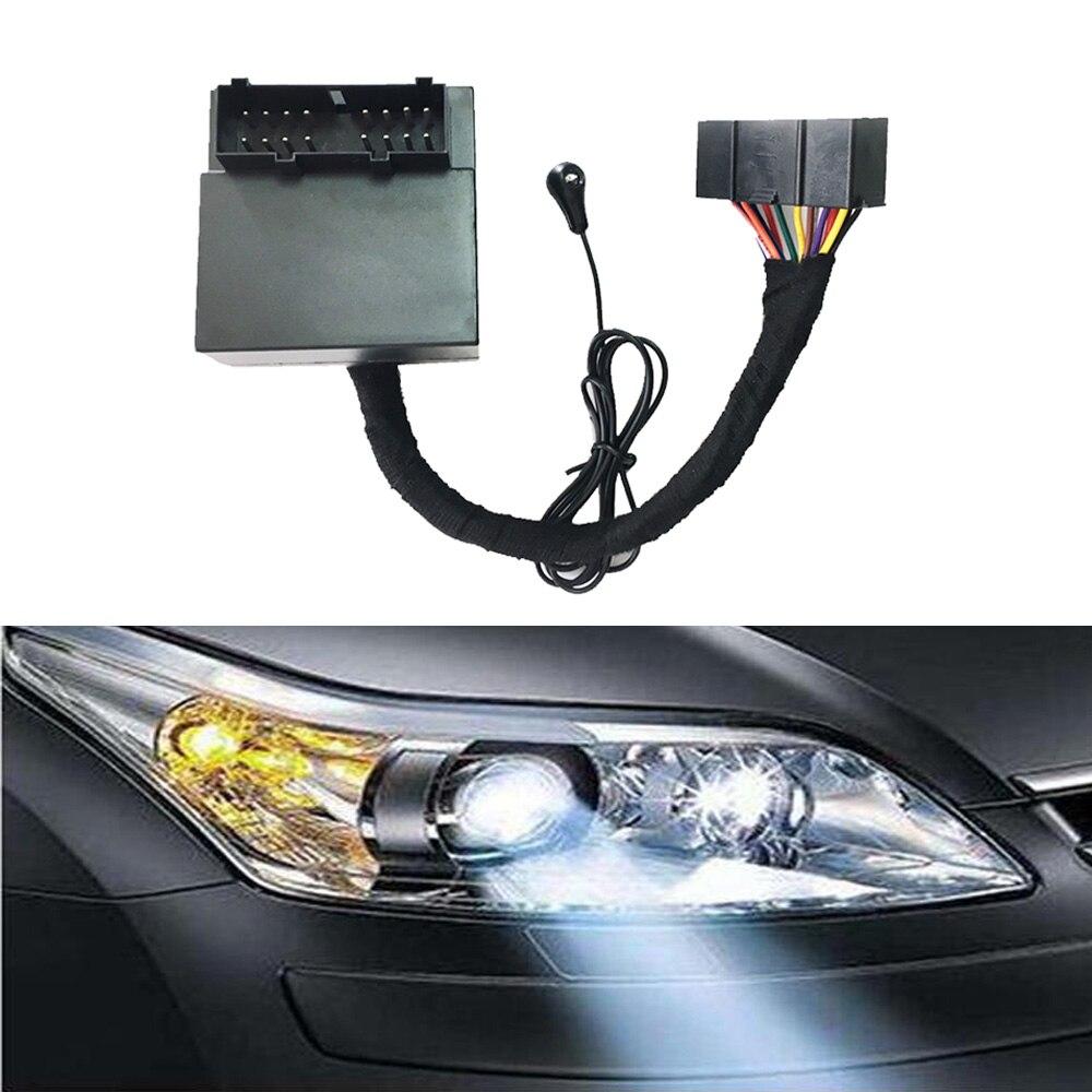 Interrupteur de phare automatique phare capteur lointain variateur contrôleur HID éclairage retard kit intelligent pour ford focus 2 3 mk2 mk3 2005-2013