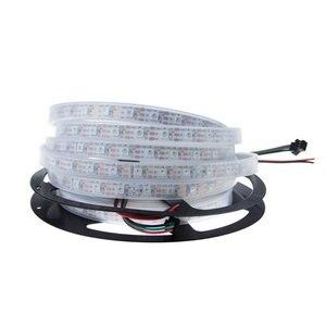 Image 2 - 50 M 10X5 M 60 LEDS/M 300 LEDs SK6812 WS2812B Individualmente Endereçável 5050 RGB LED Strip luz LED Pixel Lâmpada Flexível