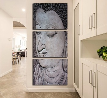 2018 NEW Free Shipping Ancient Buddha Poster Decoration Painting Canvas Print Canvas Painting Home Decor Wall art FA259