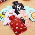 Cartoon polyester fabric Water-filling hot-water bags hot water bottles Hand Warmers handwarmer