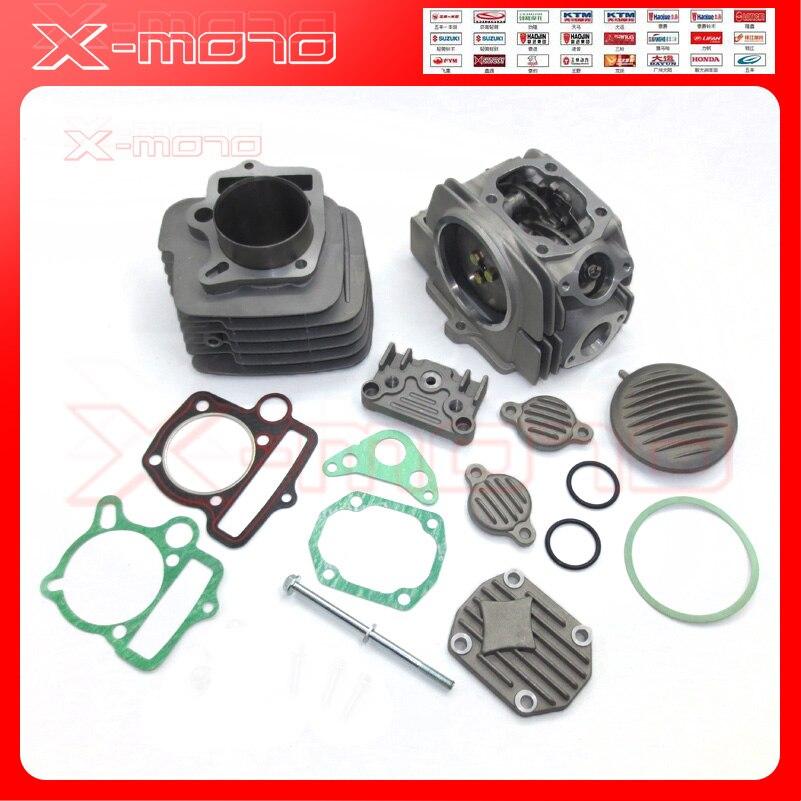 YX140 двигатель 56 мм цилиндр подходит для YX 140cc Pitster SSR YCF IMR Кроссовый питбайк