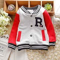 hot sale 2016 spring Kids Sports cardigan baby /infant boy Tracksuit outerwear children long-sleeved sweatshirt