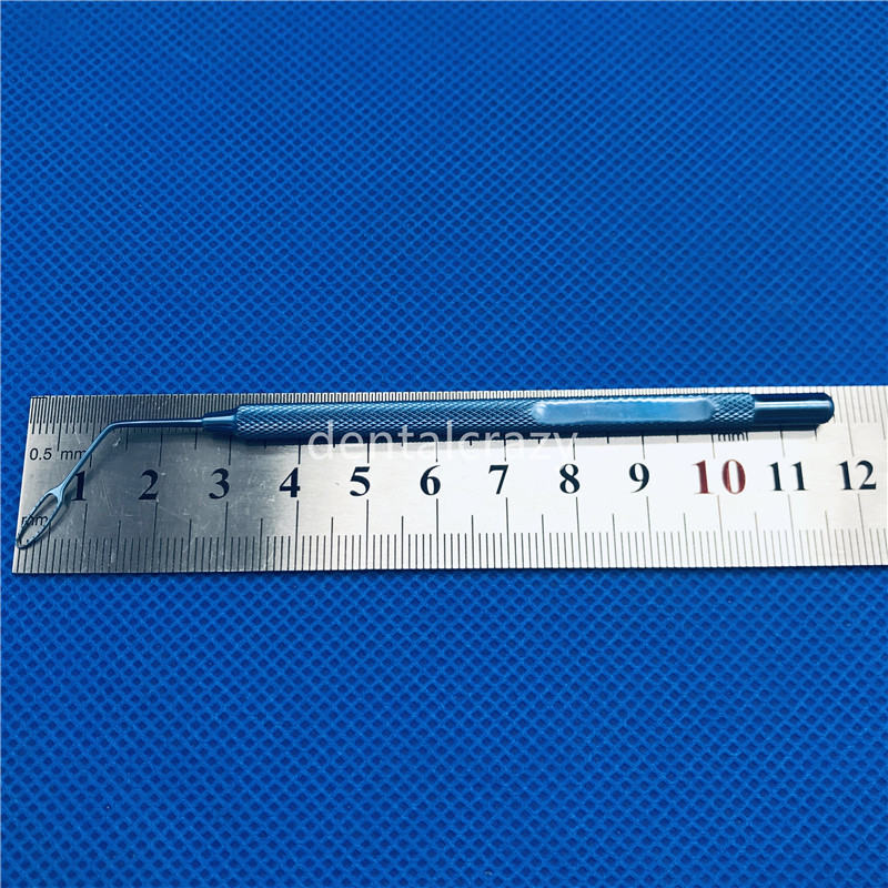 1 pces 11.5cm titanium esquerda pequeno lncision