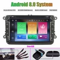 Octa Core Android 8.0 CAR DVD Player for Volkswagen VW Universal type