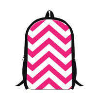 Fashion Striped Pattern Kids Students School Bag Women Double Shoulder Backpack Womens Leisure Travel Bag Cheap