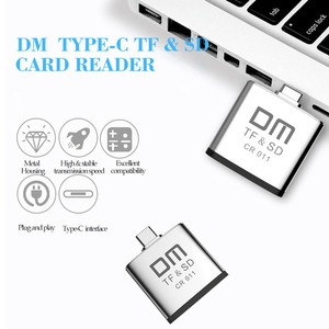 Image 2 - قارئ بطاقات نوع C لبطاقة مايكرو SD وبطاقة SD 2 في 1 USB C قارئ بطاقات CR011