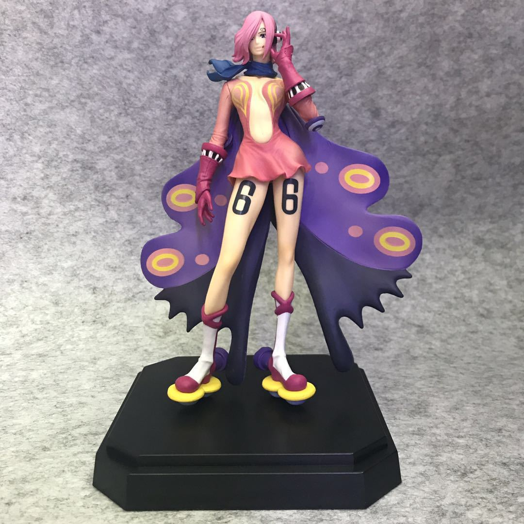 20CM Japanese anime figure <font><b>one</b></font> <font><b>piece</b></font> VinsmokeFamily Vinsmoke <font><b>Reiju</b></font> action figure collectible model toys for boys image