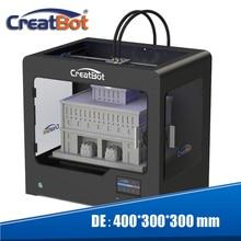 Тройной Экструдер 3d принтер большого формата размер сборки 400*300*300 мм Три цвета печати 3 катушки PLA нити в подарок