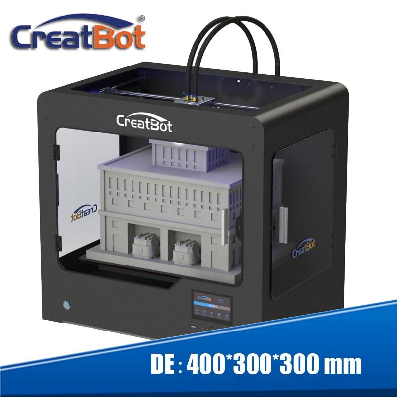 extrudeuses triples imprimante 3d grand format taille 400 * 300 * 300 - Électronique de bureau