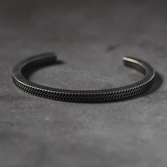 Bracelet Style rétro titane acier viking 1