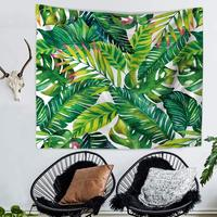 Palm Leaf Print Tapestry Wall Hanging Mandala Tapestry Wall Decor Beach Hippie mandalas Blanket Tapestries for Living Room