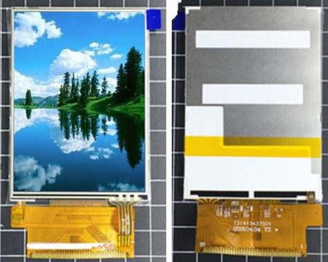 Colori Con La P.Us 8 99 3 2 Pollice 37 P Schermo Tft Lcd A Colori Con Touch Panel Ili9341 Unita Ic 240 Rgb 320 Mcu 8 16bit Interfaccia Ampio Angolo Di
