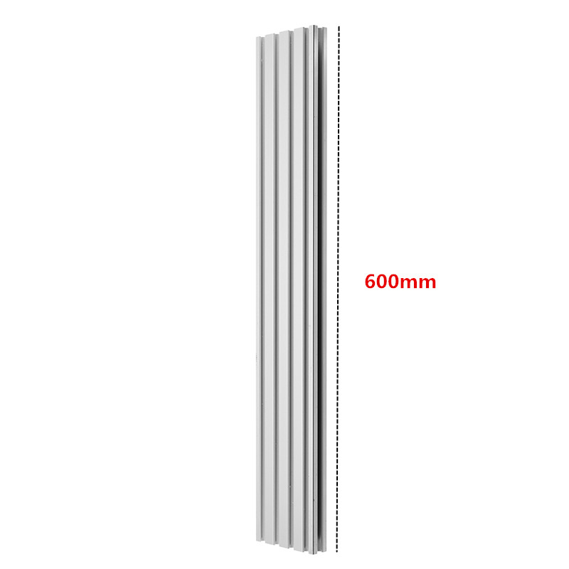 Brand New 1pc 600mm Length <font><b>2080</b></font> T-Slot Aluminum Profiles Extrusion Frame For CNC 3D Printers Plasma Lasers Stands Furniture image
