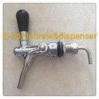 En acier inoxydable intérieure pièces pompe à bière, réglable contrôle de flux, pompe à bière avec compensateur pour homebrew et bar