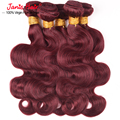 99j Malaysian Body Wave hair 7a Unprocessed Virgin Hair Burgundy Malaysian Hair Wet And Wavy Virgin Brazilian hair 99j Virgin