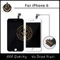 10 ШТ./ЛОТ Нет Dead Pixel ЖК Для Apple iPhone 6 ЖК-Дисплей С Сенсорным Экраном Дигитайзер Ассамблеи Бесплатная Доставка DHL DHL