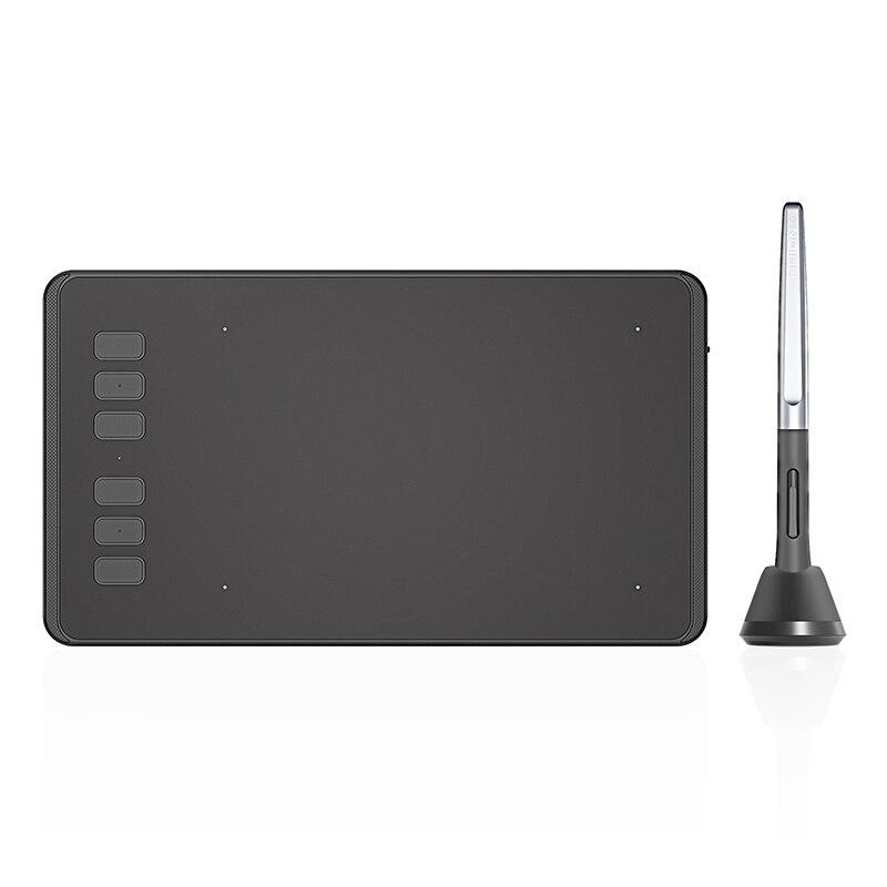 HUION H640P 6x4 дюймов Сверхлегкий цифровые таблетки графический Рисунок планшет для ОГУ игра с батареей-Бесплатная