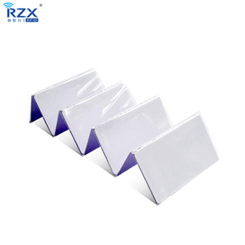 Free shipping 20pcs rfid proximity plastic CR80 MIFARE Plus S 4K (4byte UID) blank card for security system