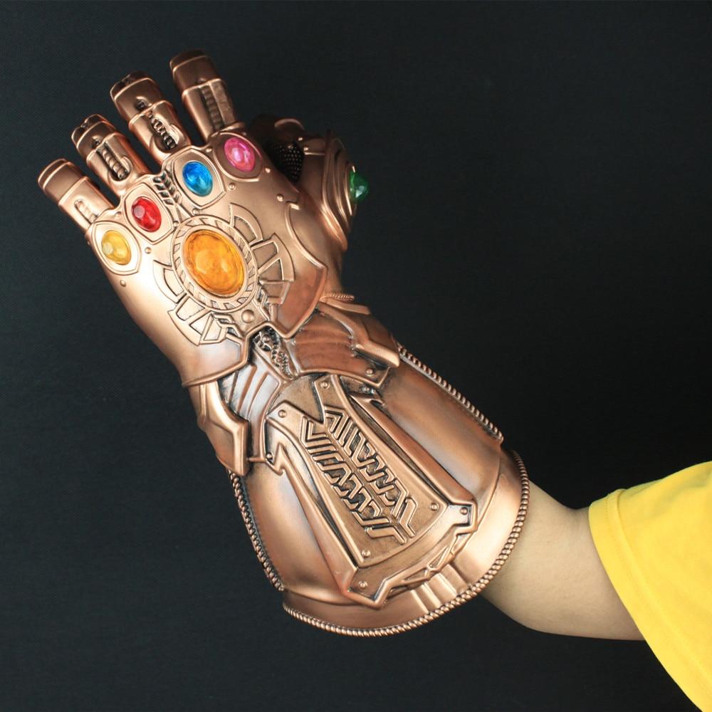 Filmski maščevalci Infinity War Thanos Gauntlet Cosplay Rokavice - Karnevalski kostumi