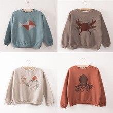 BBK High Quality Bobo Choses sweater autumn Children 5Colors Long Sleeve boys Sweater girls Sweatshirt T-Shirt Kids boys Top C*