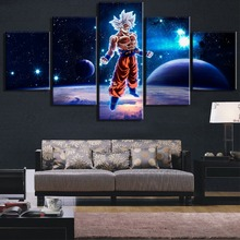 5 Piece HD Print Large Dragon Ball Exoplanet Cuadros Decoracion Paintings on Canvas Wall Art for Home Decorations Wall Decor