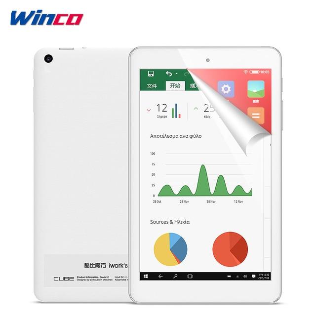 8 Inch Cube iWork8 Air Pro Windows10 + Android 5.1 Tablet PC IPS 1920*1200 Intel Atom X5-Z8350 Bluetooth HDMI Camera 2GB 32GB