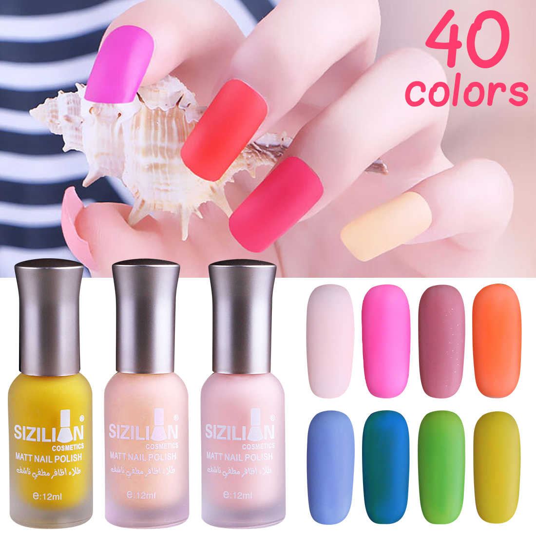Scrub Nail Polish 12ml matte matte retro velvet durable non-peelable waterproof nude color bean color nail polish