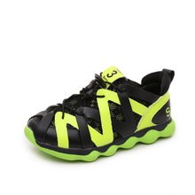 2017New design fashion hot sale children's shoes boys and girls Wear-resistant non-slip sports shoes breathable net casual shoes