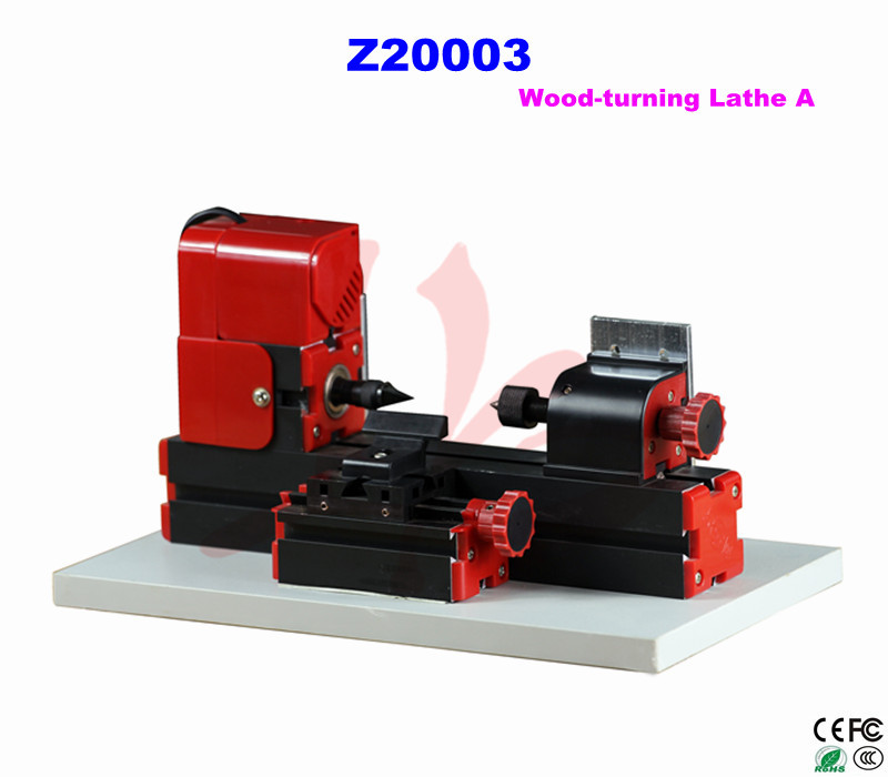 ФОТО Mini Lathe Z20003 wood working lathe/ 24W,20000rpm DIY wood turning lathe