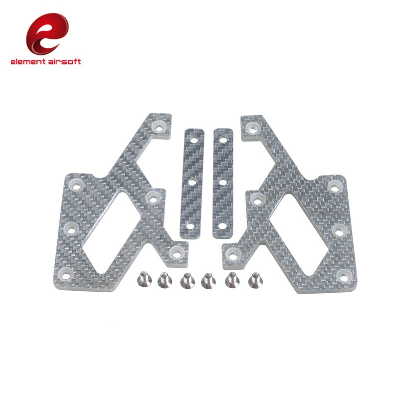 Element EX268 C-more Mount Carbon Plate Military Tactical Airsoft Paintball Hunting SeeM ...
