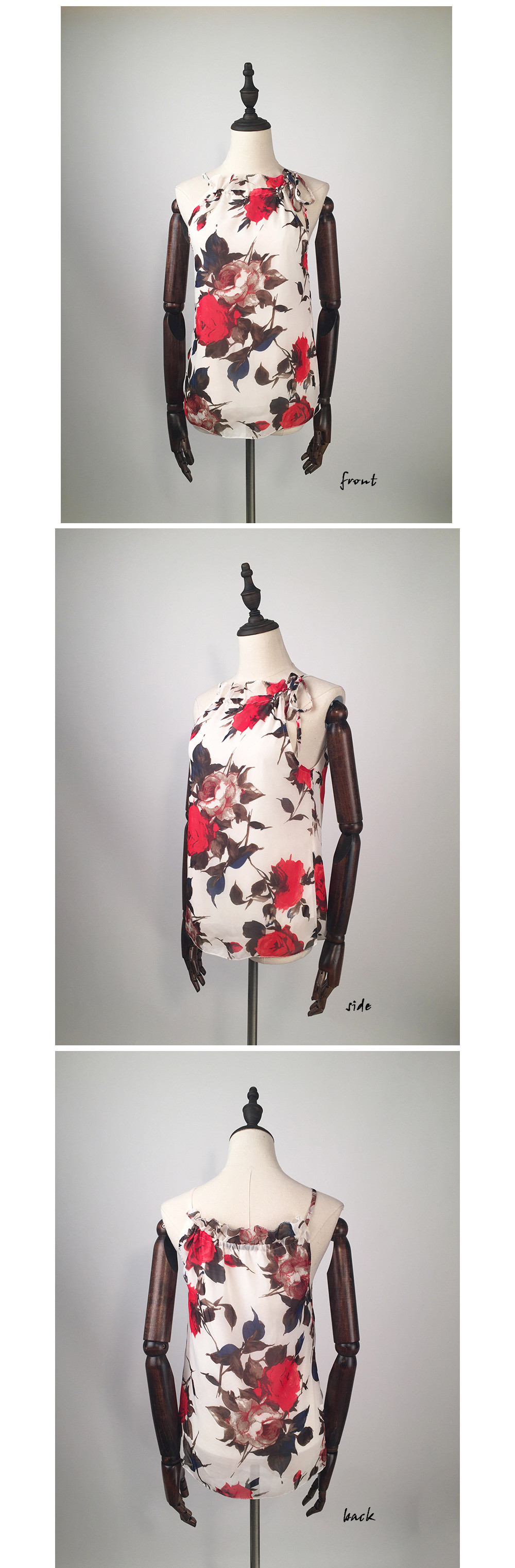 HTB1vCFUOVXXXXbgXVXXq6xXFXXX9 - New Fashion Women Sleeveless Chiffon Floral Print Blouses Tops Shirt